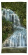 Shenandoah Waterfall Beach Towel