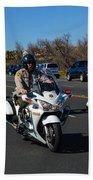 Sheriff's Motor Officers Beach Towel