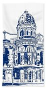 Shibe Park 2 Beach Towel by John Madison