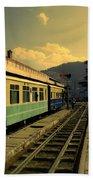 Shimla Railway Station Beach Towel
