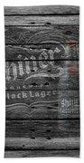 Shiner Black Lager Beach Towel