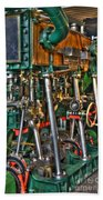 Ship Engine Beach Sheet