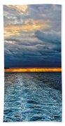 Ship Lamps Beach Towel