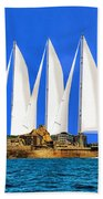 Ship Of State Beach Towel