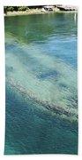 Shipwreck In Big Tub Harbour Beach Towel
