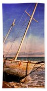 Shipwrecked Beach Towel
