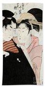 Shirai Gonpachi, C1798 Beach Towel