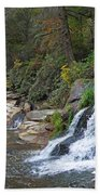 Shoal Creek Area Waterfalls Beach Towel