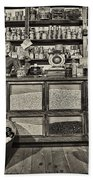 Shopping At The General Store Beach Towel by Priscilla Burgers