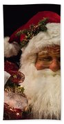 Shopping Mall Santa Beach Towel