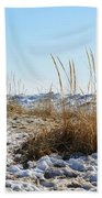 Shore And Ice Beach Towel