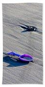 Pink Toy Spade Beach Towel