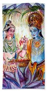 Shree Sita Ram Beach Towel