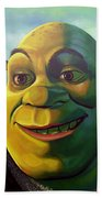 Shrek Beach Towel by Paul Meijering