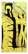 Shroud Of Jesus Beach Towel