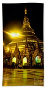 Shwedagon Paya - Yangoon Beach Towel