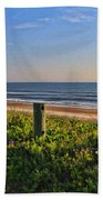 Side Of The Road In Flagler Beach Towel