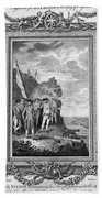 Siege Of Gibraltar, 1782 Beach Towel