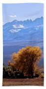 Sierra Autumn Gold Beach Towel