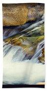 Sierra Snow Melt Beach Towel