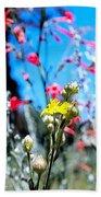 Sierra Wild Flowers II Beach Towel