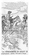 Sieur De La Verendrye (1685-1749) Beach Sheet