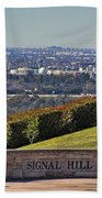 Signal Hill Beach Towel