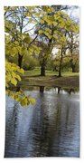 Sigulda Pond Beach Towel