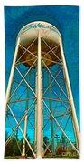 Sikeston Water Tower Iv Beach Towel