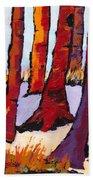 Silent Woods Beach Towel