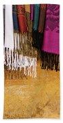 Silk Fabric 02 Beach Towel