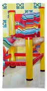 Silla De La Cocina--kitchen Chair Beach Towel