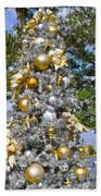 Silver And Gold Beach Towel