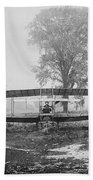 Silver Dart - Aeroplane At Hammondsport 1908 Beach Towel