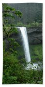 Silver Falls 1 In Oregon Beach Towel