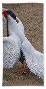 Silver Pheasant Beach Towel