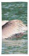 Silvery Softness Beach Towel