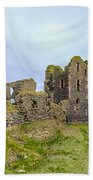 Sinclair Castle Scotland - 3 Beach Towel