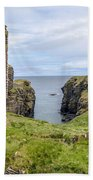 Sinclair Castle Scotland - 5 Beach Towel