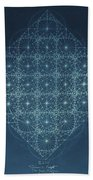 Sine Cosine And Tangent Waves Beach Towel