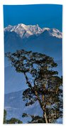 Singalila Ridge Sikkim Beach Towel