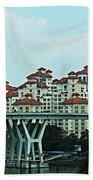 Singapore 11 Beach Towel