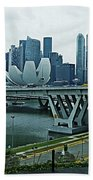 Singapore 14 Beach Towel