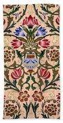 Single Stem Wallpaper Design, 1905 Beach Towel
