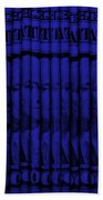 Singles In Blue Beach Towel