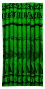 Singles In Green Beach Towel