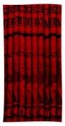 Singles In Red Beach Towel