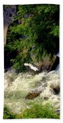 Sinks Waterfall Beach Towel