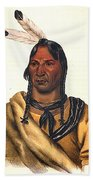 Sioux Chief 1883 Beach Towel