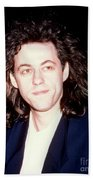 Sir Bob Geldorf 1989 Beach Towel